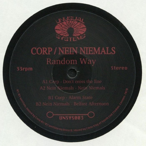 "( UNSYS 003 ) CORP / NEIN NIEMALS - Random Way (12"") Unusual Systems"