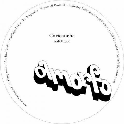 """( AMOR 003 ) AMORFO - Coricancha EP (12"""") Amorfo Uruguay"""