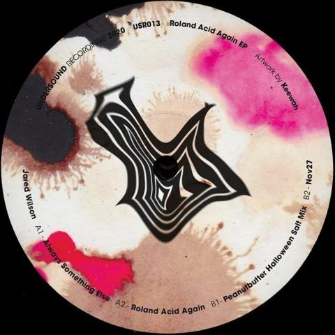 "( USR 013 ) Jared WILSON - Roland Acid Again EP (12"") Undersound Recordings"
