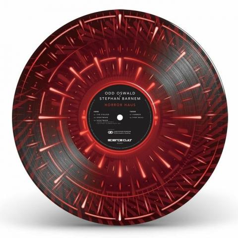 "( SCKS 1 ) ODD OSWALD / STEPHAN BARNEM -  Horror Haus (limited 12"" picture disc) Science Cult"