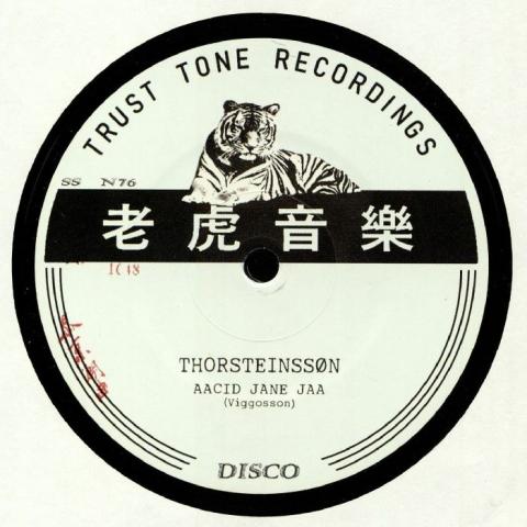 "( SSON 76 ) THORSTEINSSON - Aacid Jane Jaa (12"") Trust Tone Recordings"