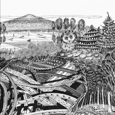 "( MBR 002 ) Boris HEGENBART / DAVID MOSS / OHANAMI / SHOEN / SHCAA / SMOOTH OPERATORS / REV - Eternal Poet EP (10"") Misbits Recordings Romania"