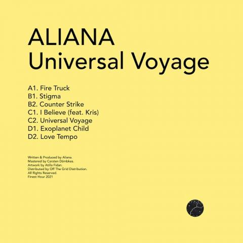 "( FH 15 ) ALIANA - Universal Voyage LP (2X12"") Finest Hour"