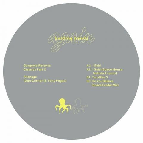 "( HHAGAIN 006 ) ALIENAGE - Gargoyle Records Classics Part 2 (12"") Holding Hands"