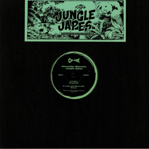 "( QRK 001 ) Alexander SKANCKE - Jungle Japes (12"") Quirk"