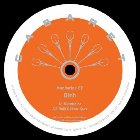 """( CABARET 021 )  BINH - Mandarine EP (12"""") Cabaret Japan"""