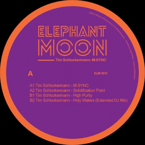 "( ELM 1013 ) Tim SCHLOCKERMANN - M SYNC (12"") Elephant Moon"