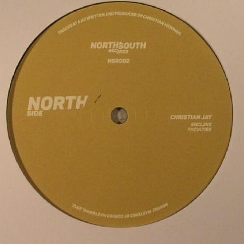 "(  NSR 002 ) Christian JAY / BILAL - NSR 002 (140 gram vinyl 12"") - NorthSouth"