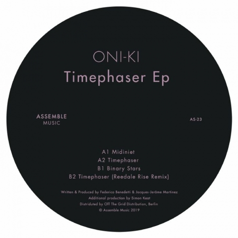 "(  AS 23 ) ONI KI - Timephaser EP (12"") Assemble Music Portugal"