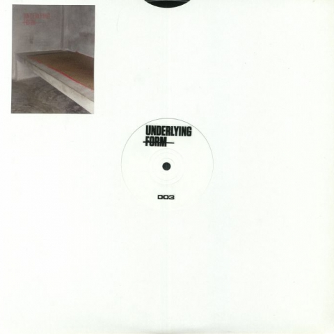 "(  UF 003 )  Darren ALLEN - Popular Delusions - (12"") - Underlying Form"