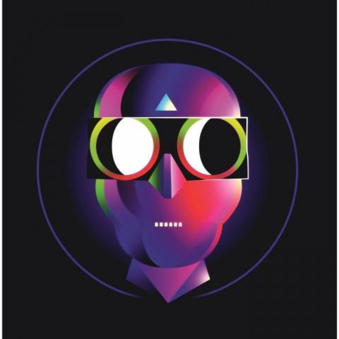 "( HC 001 ) Phil EVANS  /POHL / FELIPE VALENZUELA / ONIRIK - Binoclorized EP (12"") Hearing Colors USA"