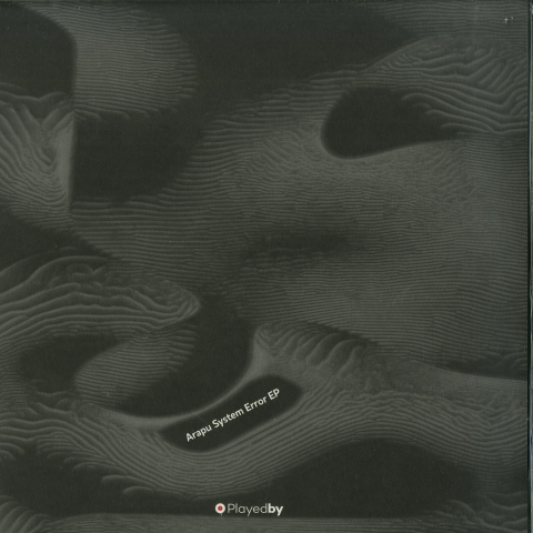 "( PLAYEDBY 005 ) ARAPU - System error EP (12"" Vinyl) Playedby"