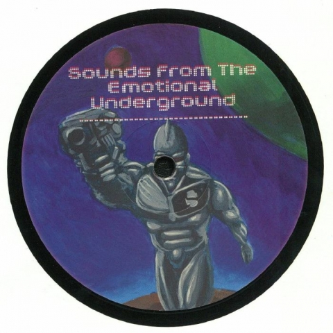 "( EE 0004 ) REEDALE RISE / ZULETA / DEREK CARR / JOHN SHIMA - Sounds From The Emotional Underground (12"") Emotions Electric"