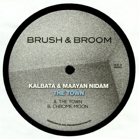 "( BNB 003 ) KALBATA / MAAYAN NIDAM - The Town (180 gram vinyl 12"") Brush & Broom"