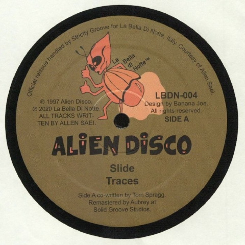 "( LBDN 004 ) ALIEN DISCO - In Flight Entertainment (reissue) (double 12"") La Bella Di Notte Italy"