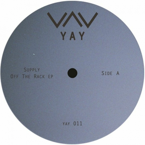 "( YAY 011 ) SUPPLY - Off The Rack EP (12"") Yay"