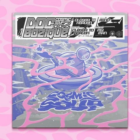 """( COS 002 ) DOC BOZIQUE - Doc Bozique (limited 180 gram vinyl 12"""") Cosmic Soup"""