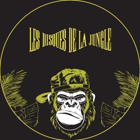 "( LDDLJ 03 ) FSK24 / FELIX DULAC / NILS / SOLAL REYES - Gorilla jam (12"") Les Disques De La Jungle"