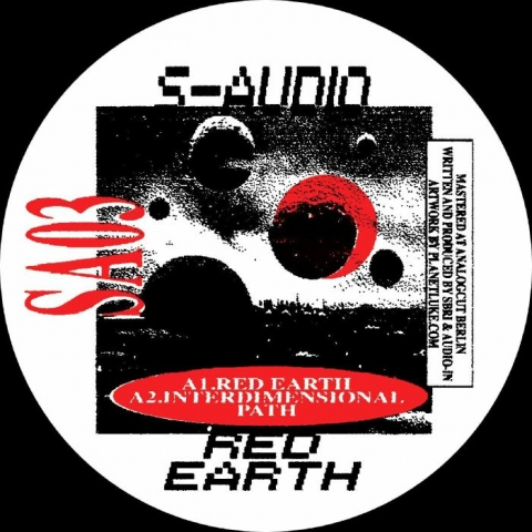 "( SA 03 ) S AUDIO - Red Earth (12"") S Audio Spain"
