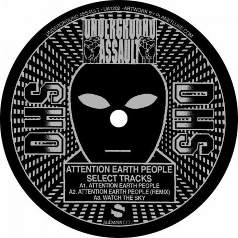 "( UA 1202 ) DHS - Attention Earth People (180 gram vinyl 12"") Underground Assault"