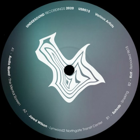 "( USR 015 ) AUDIO QUEST / JARED WILSON / SOHRAB / KCLF - Various (12"") Undersound Recordings"