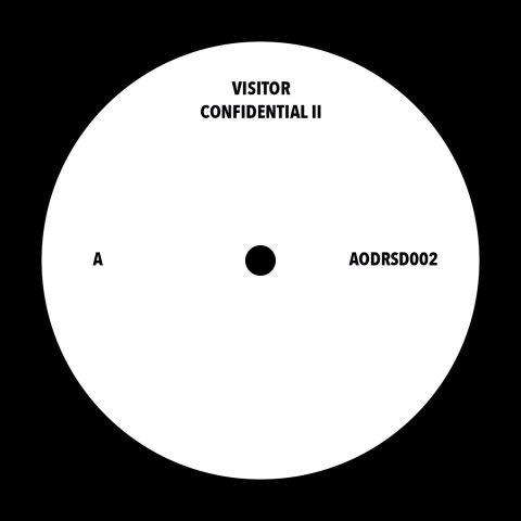 "( AODRSD 002 ) VISITOR - Confidential II ( 12"" vinyl ) Art Of Dark"