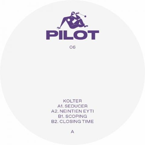 "( PILOT 06 ) KOLTER - Seducer ( 12"" vinyl ) Pilot UK"