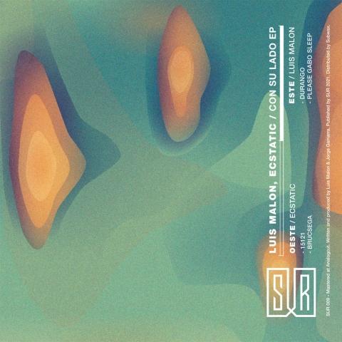"""( SUR 009 ) LUIS MALON / ECSTATIC - Con Su Lado EP ( 12"""" vinyl ) Sur"""