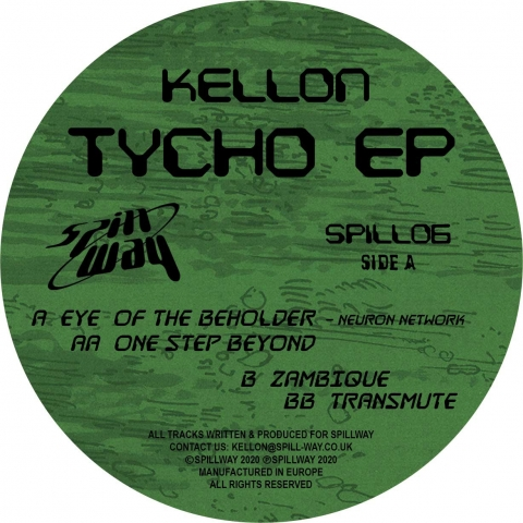 "( SPILL 06 ) KELLON - Tycho EP (12"") Spillway"