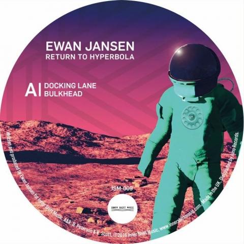 """( ISM 009 ) Ewan JANSEN - Return To Hyperbola (180 gram vinyl 12"""") Inner Shift"""