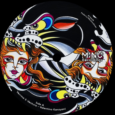 """( MINU 001 ) VARIOUS ARTISTS - Minu 001 (12"""") Minu Recordings"""