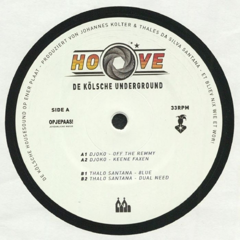 "( HOOVE 01 ) DJOKO / THALO SANTANA - Et Bliev Nix Wie Et Wor! (12"") Hoove"