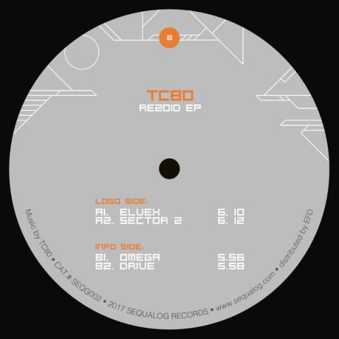 """( SEQG002 ) TC80 – Rezoid EP ( Vinyl, 12"""" EP )  SEQUALOG"""