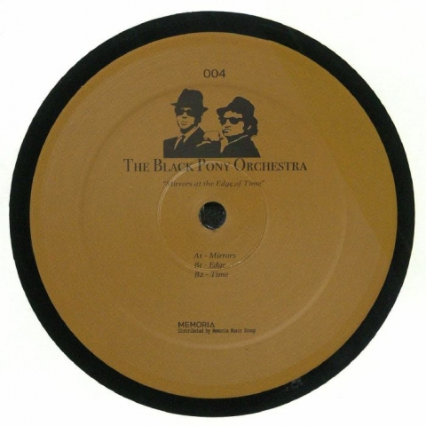 "( BPO 004 ) The BLACK PONY ORCHESTRA - Mirrors At The Edge Of Time (12"") The Black Pony Orchestra Holland"