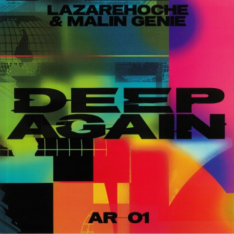 "( AR 01 ) LAZARE HOCHE / MALIN GENIE - Deep Again (180 gram vinyl 12"") Access France"