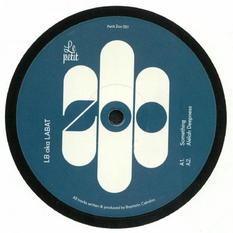 "( PETITZOO 001 ) LB aka LABAT - No Money No Honey EP (12"") Le Petit Zoo France"
