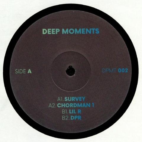"( DPMT 002 ) DEEP MOMENTS - Deep Moments 002 (12"") Deep Moments France"