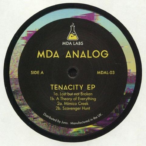 "( MDAL-03 ) MDA ANALOG - Tenacity EP (140 gr vinyl 12"") MDA Labs"