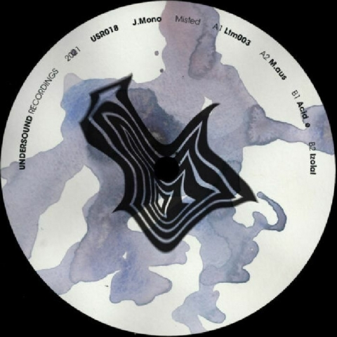 "( USR 018 ) J MONO - Misted (12"") Undersound Recordings"