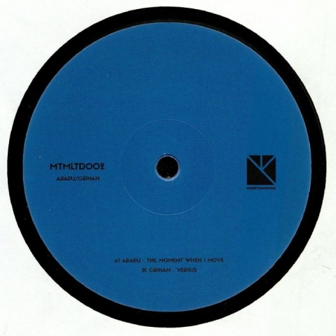 "(  MTMLTD 002 ) ARAPU / CRIHAN -  MTMLTD 002 (limited 180 gram vinyl 12"") MTM Holland"
