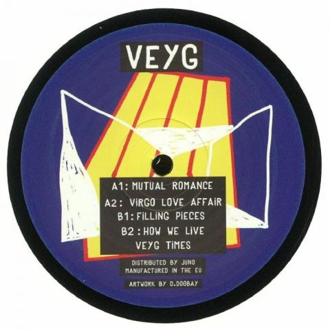 """(  VEYG 001 ) VEYG AKA TOM DICICCO - VEYG 001 (vinyl 12"""") - Veyg Times"""