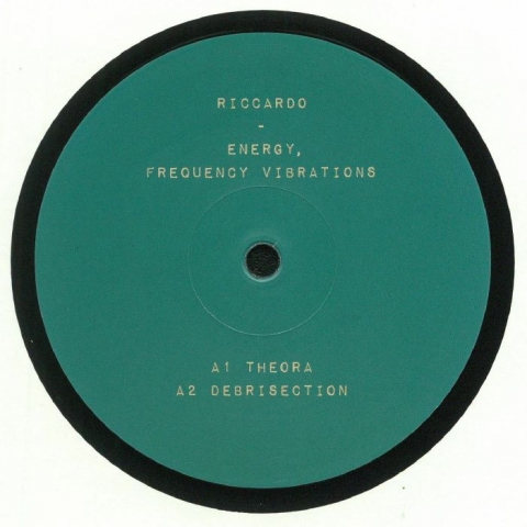 "( MET 005 ) RICCARDO - Energy Frequency Vibrations (12"") Metropolita"