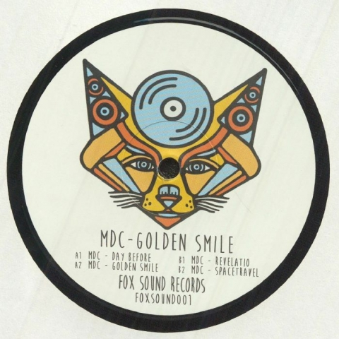 "( FOXSOUND 001 ) MDC - Golden Smile (12"") Fox Sound Italy"