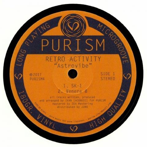 "(  PURISM 4 ) RETRO ACTIVITY -  Astrovibe (180 gram vinyl 12"") PURISM"