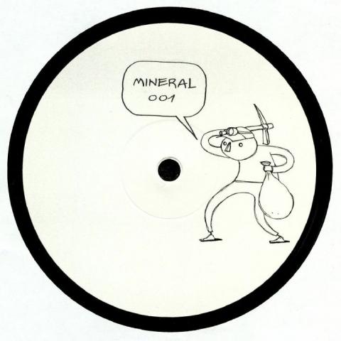 """( MINERAL 001 ) Samuel PADDEN - MINERAL 001 (heavyweight vinyl 12"""") Mineral"""
