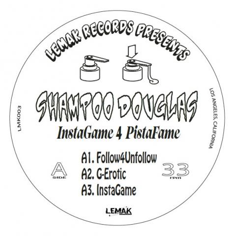 "( LMK003 ) Shampoo Douglas - InstaGame 4 PistaFame (12"") Lemak"