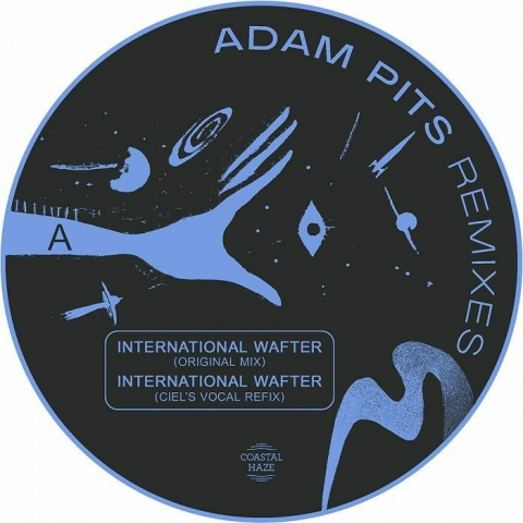 "( HAZER 02 ) Adam PITS - International Wafter: The remixes (12"") Coastal Haze Holland"