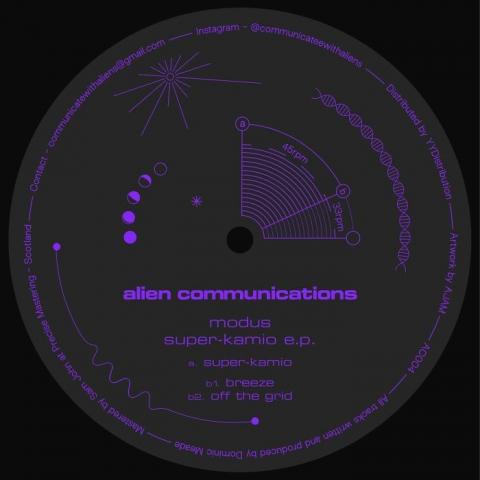 "( AC 004 ) MODUS - Super Kamino EP (12"") Alien Communications"