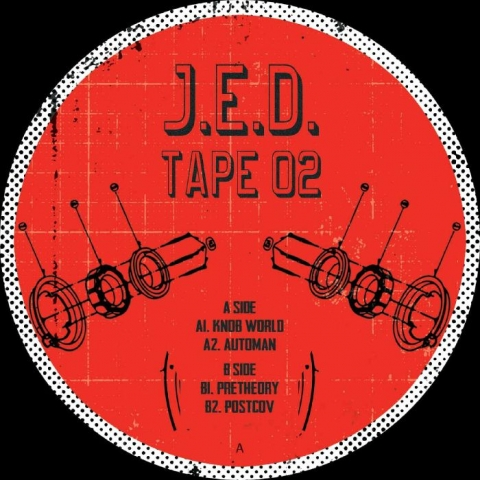 "( JED 02 ) JED TAPE - Jed Tape 02 (12"") JED Tapes"