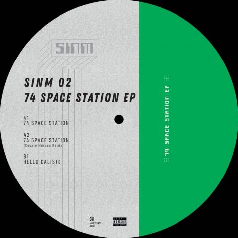"( SINM 02 ) SINM - 74 Space Station EP ( 12"" vinyl ) SINM Music"